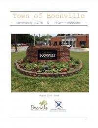 Boonville Streetscape Plan